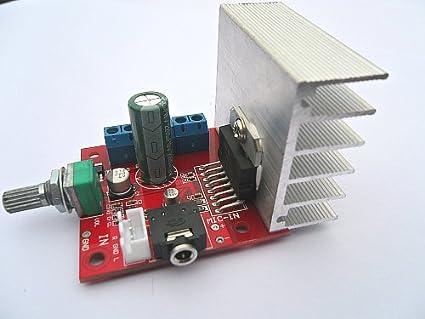 Amazon com: EVERYDI MAX9812 +TDA7297 loudspeaker amplifier board