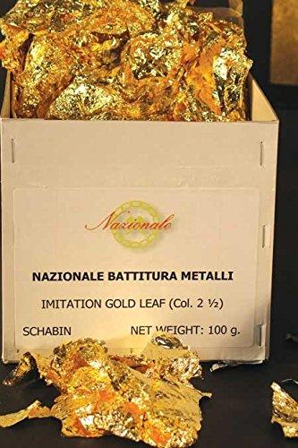 Sepp Leaf Schaibin Broken Leaf Compo Gold 100-grams