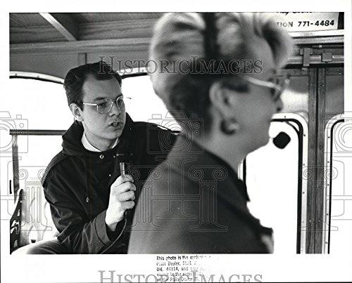 Soviet Press - Vintage Photos Historic Images 1989 Press Photo Soviet Interpreter, Olig Romanyuk - 8 x 10