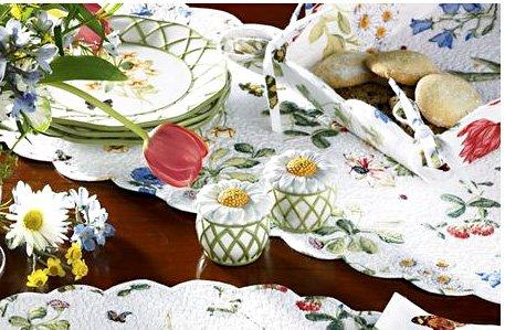 Wildflowers Kitchen Table Runner