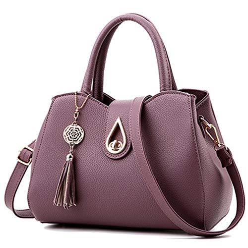 Pahajim Women Fashion Tassels Handbags Top Tote Handle Bags Cute Mini Items Shoulder Purse