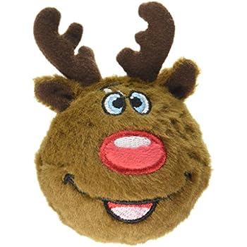 Pet Supplies : fabdog Reindeer faball Squeaky Dog Toy