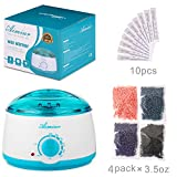 Wax Warmer, Wax Hair Removal Kit + Hard Review and Comparison