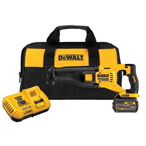Dewalt Recip Saw - DEWALT DCS388T1 FLEXVOLT 60V MAX Brushless Reciprocating Saw with 1 Battery Kit