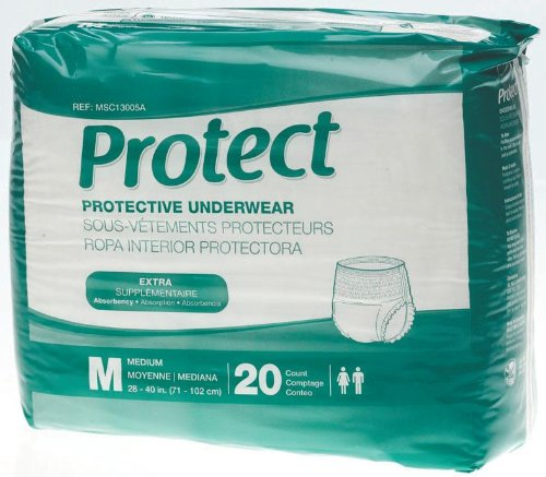 Medline MSC13005A Protect Protective Underwear