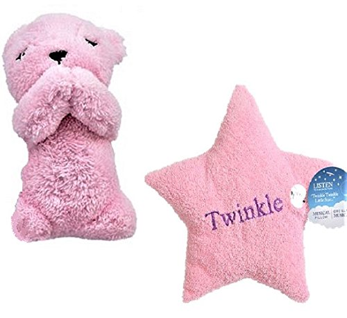 Pillow Star Cuddle (Plush Musical Prayer Bear and Star Pillow