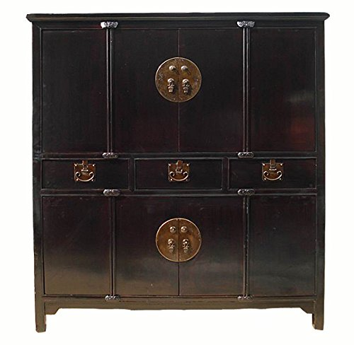 Antique Black Cabinet by DYAG East