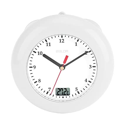 Temporizadores Reloj De Pared, Reloj de baño con ventosa, Reloj de pared impermeable de