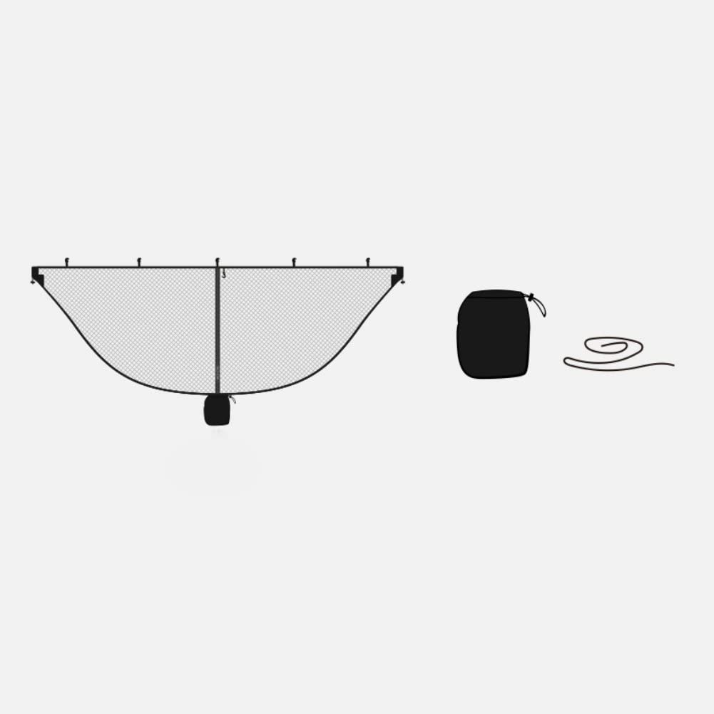 KINHOO Hammock Mosquito Nets Nylon Insect Prevention Portable Outdoor Camping Accessories With Rope Hooks