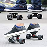 Eprocool Skateboards Risers Pads DV Mount for GoPro Hero Skate Truck Risers for Sport Camera Truck Spacers with Drawer - Black