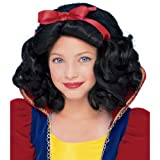 Rubie's Child's Fairest Princess Wig, Black