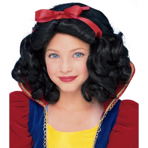 Snow White Wig Child (Rubie's Child's Fairest Princess Wig,)