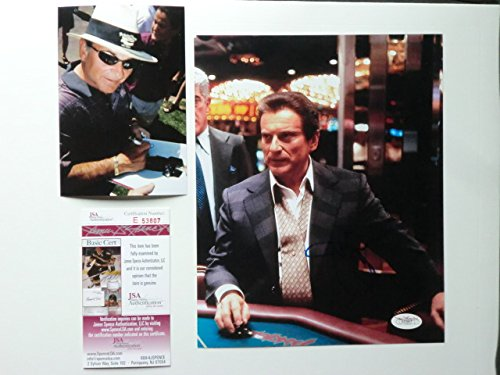 Joe Pesci Rare! signed Casino 8x10 photo JSA coa with PROOF!!