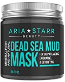 Aria Starr Dead Sea Mud Mask For Face, Acne, Oily Skin & Blackheads