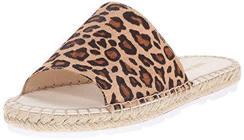 M West 4 Multi Davinia Natural EU Nine B UK Flat 5 Espadrille B M Women'S Pony 5 Black 36 TBBfx