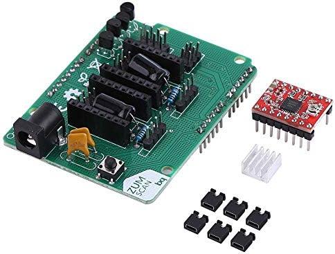 Akozon Impresora 3D Placa base de escáner Ciclop Tablero de ...