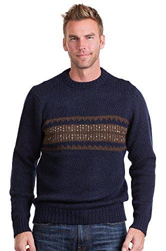 Adler Peruvian Alpaca Wool Pullover Sweater Peruvian Alpaca Wool Mens Sweater