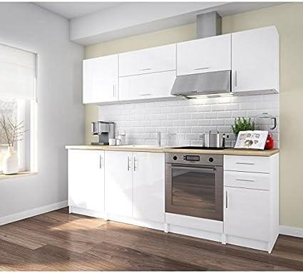 Générique Corry 240 Cocina Complete L 2 M40 – Color Blanco Lacado: Amazon.es: Hogar