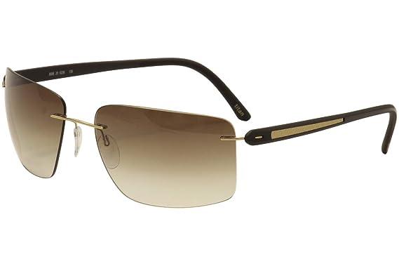 Amazon.com: Silueta Titanio anteojos De Sol T1 de carbono ...
