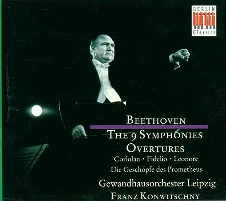 Sinfonien 1-9/Ouvertren - F. Konwitschny, Gol, Ludwig Van ...
