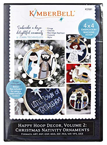 Kimberbell Machine Embroidery CD: Happy Hoop Decor, Volume 2: Christmas Nativity Ornaments