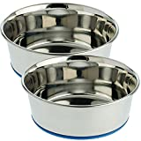 OurPets Premium DuraPet Dog Bowl, 4 Cups (2 Pack)