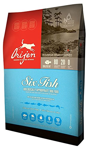 Orijen 6 Fish Grain-Free Formula Dry Dog Food 28.6 lb. Bag