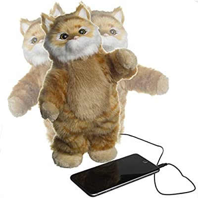 Dancing Cat Speaker BROWN