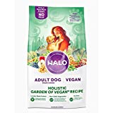 Halo Vegan Dry Dog Food, Garden of Vegan Recipe, 25-Pound Bag