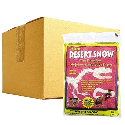 T-Rex Desert Snow Bedding: BULK - 24 lbs (6 x 4 lbs)