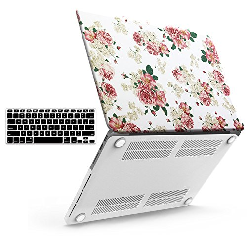 iBenzer Basic Soft-Touch Series Plastic Hard Case & Keyboard Cover for Apple Old Macbook Pro 13-inch 13
