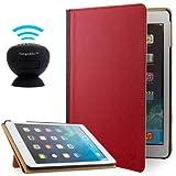 VanGoddy Fire Red Book Case w/ BT Speaker for 2nd Gen Apple iPad Air 9.7