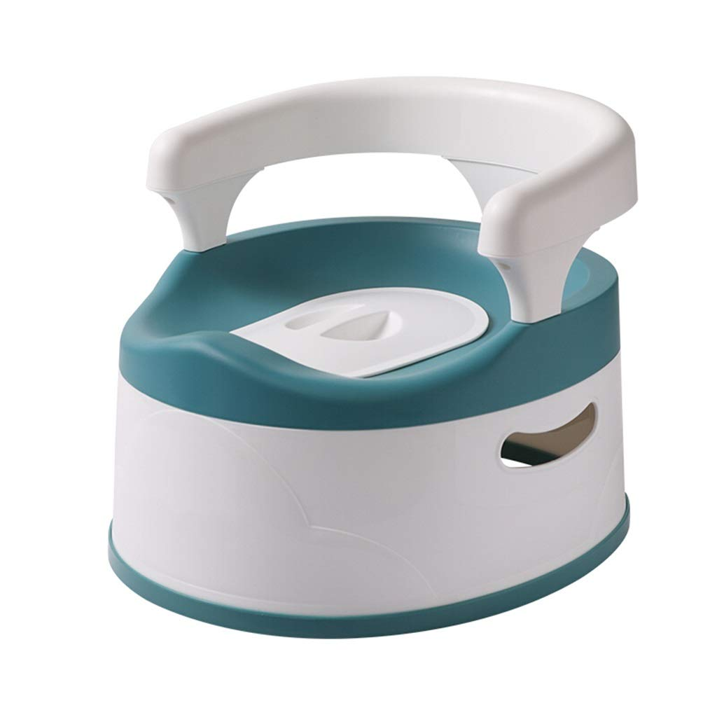 XWJC Children's Large Toilet Baby Toilet Male and Female Baby Toilet Baby Potty Urinal Recommended Below 5 Years Old (Color : Blue) by XWJC (Image #1)