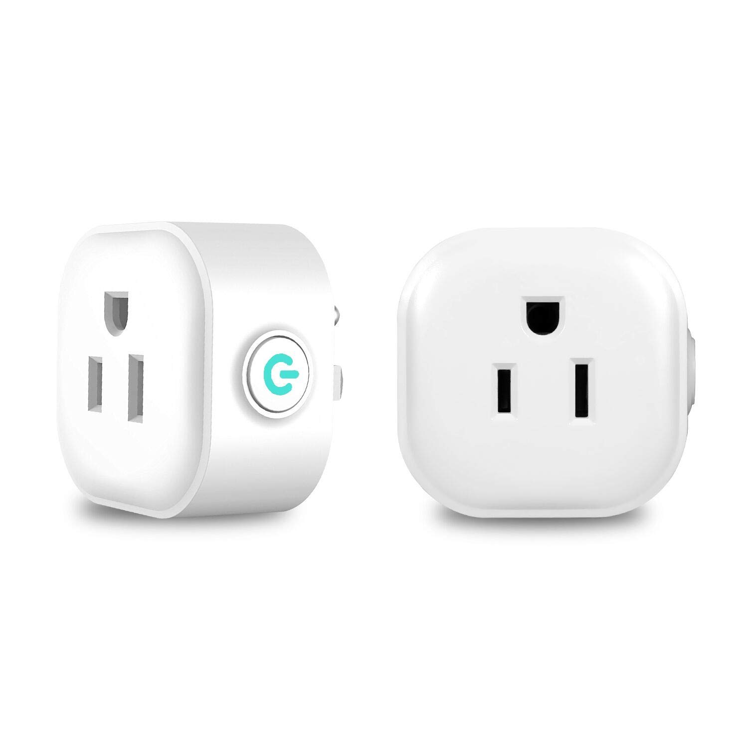 Smart Plug Mini Outlet Compatible with Alexa and Google Assistant IFTTT, No Hub Required, ETL and FCC Listed Wifi Enabled Remote Control Smart Socket
