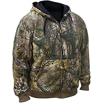 DEWALT DCHJ074D1-XL Realtree Xtra️ Camouflage Heated Hoodie, X-Large, Camouflage