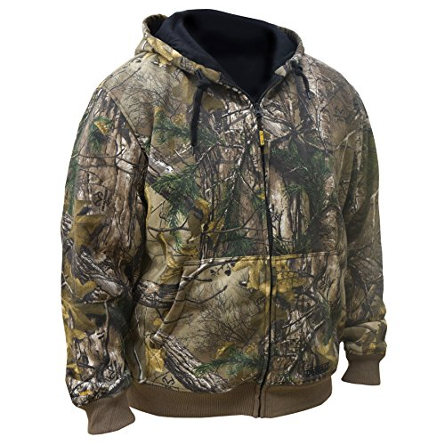 DEWALT DCHJ074D1-2X Realtree Xtra️ Camouflage Heated Hoodie, 2X-Large, Camouflage by DEWALT