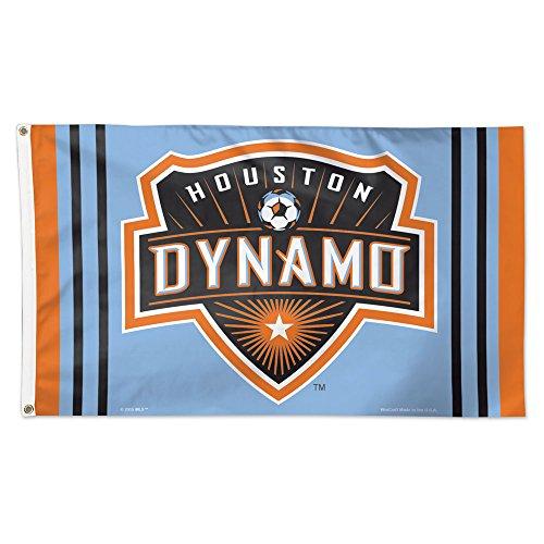 MLS Houston Dynamo Flag Deluxe, 3 x 5-Foot