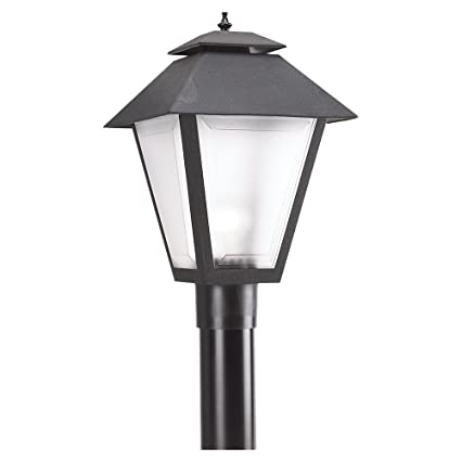 Seagull lighting 82065 12 polycarbonate outdoor one light outdoor seagull lighting 82065 12 polycarbonate outdoor one light outdoor post lantern black aloadofball Images