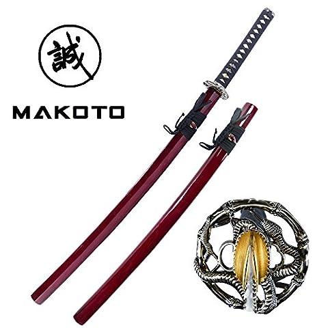 Makoto Handmade Sharp Japanese Katana Samurai Sword 40