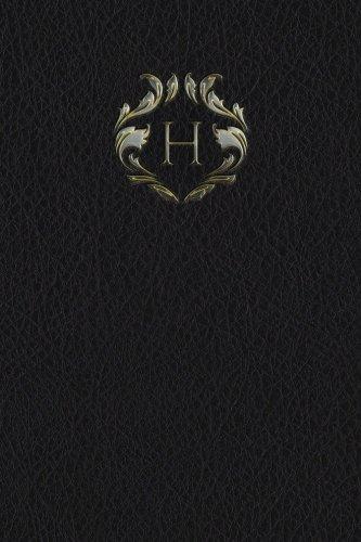 "Monogram ""H"" Journal (Monogram Black 365 Lined) (Volume 8) ebook"