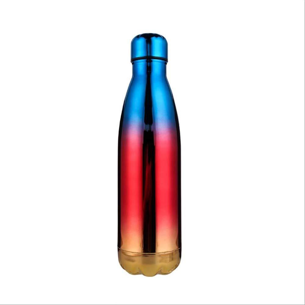 Amazon.com: ZHONGYI666 Botella de agua aislada al vacío de ...