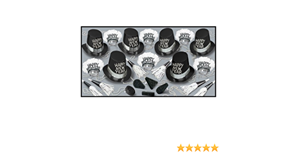 Amazon Com Tuxedo Nite Asst For 50 Party Accessory 1 Count Party Favors Kitchen Dining