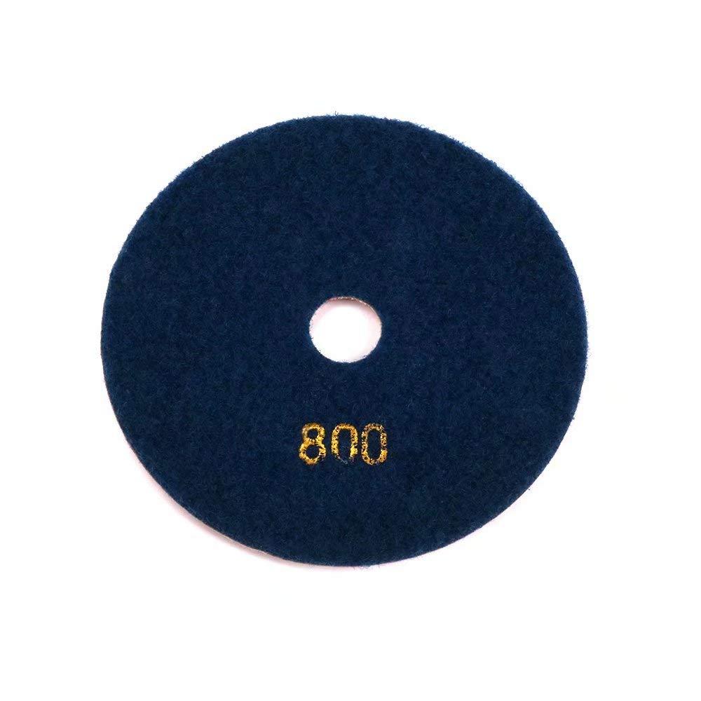 zum Polieren 400# 1Pc Diamant-Polierscheiben Restaurieren und Pflegen des Betons Terrazzo und Granitb/öden 125 mm trocken//nass 12,7 cm