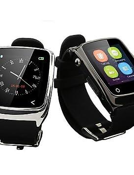H1 Wearables reloj inteligente de lujo, control de mensajes/control de la cámara/rastreador de sueño para iOS/Android OS: Amazon.es: Electrónica