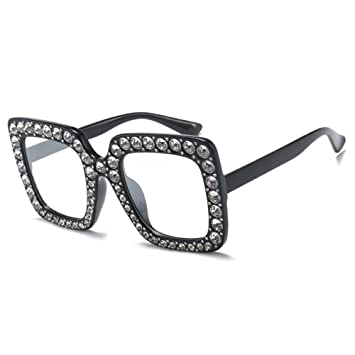 KlaPe Mujeres Marco Cuadrado Gafas Señoras Color Gafas De ...