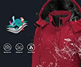 Wantdo Women's Ski Jacket Mountain Windproof Rain
