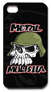 icasepersonalized Personalized Protective Case for iphone 4 - Metal Mulisha