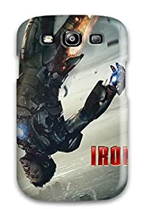 Hot Snap-on Tony Stark In Iron Man 3 Hard Cover Case/ Protective Case For Galaxy S3