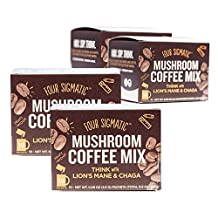 Four Sigmatic LIONS MANE AND CHAGA COFFEE - 4 PACK