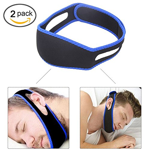 Anti Snoring Chin Strap,Snore Reduction Chin Strips, Stop Snoring, Adjustable Snore Relief Chin Strap (Chin Up Strips)